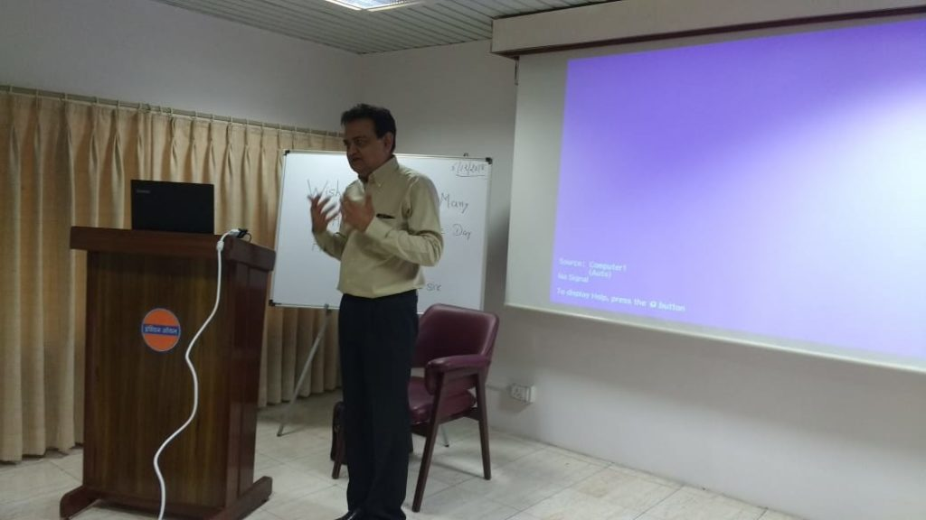 IOCL Medical Centre Invites Dr Mody For a Lecture.