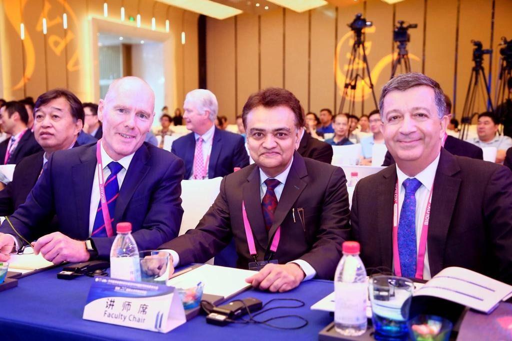 Dr. Bharat Mody in China